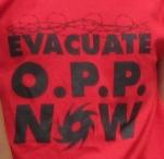 close up evacuate opp
