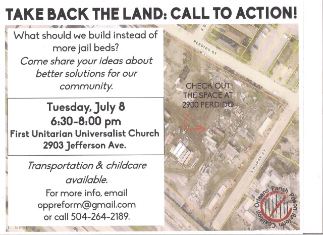 Take Back The Land OPPRC July 2014
